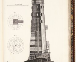 45. smeaton, a narrative of the building and a description of the construction of the edystone lighthouse with stone, 1791