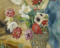 141. louis valtat | tulipes et anemones