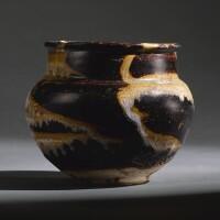 203. a 'jizhou' splashed jar southern song dynasty |