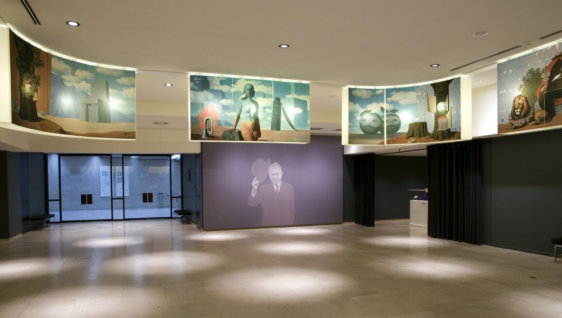 Interior View, Musée Magritte Museum, Musées Royaux Des Beaux-Arts de Belgique