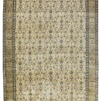 20. a kashan mohtasham carpet, central persia