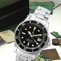249. 勞力士(rolex) | 1665型號「double red sea-dweller」精鋼自動上鏈鍊帶腕錶備日期顯示,年份約1977。