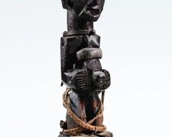 96. statue, songye, république démocratique du congo  