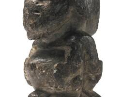 29. sapi male and female janus figure,liberia or sierra leone