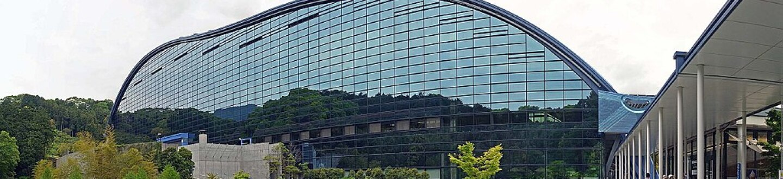 Exterior view of Kyushu National Museum.