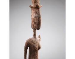 82. superbe statue, bamana, mali
