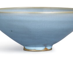 3. a large junyao blue-glazed bowl song –jin dynasty