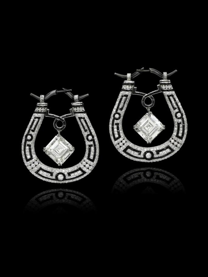 Eliane Fattal, lucky charm earrings