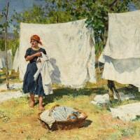 45. raffaello sorbi   washerwomen