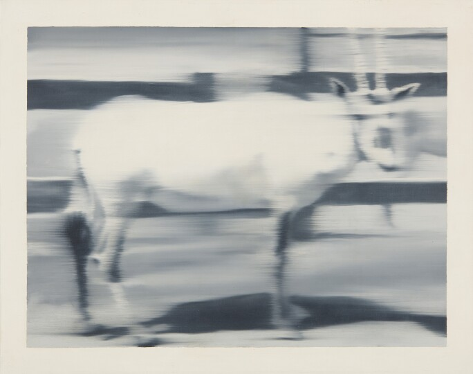 Gerhard Richter Sable Antelope