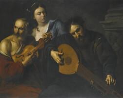 9. Follower of Michelangelo Merisi called Caravaggio