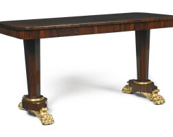 13. a william iv rosewood center table, circa 1830