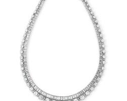 256. diamond necklace, van cleef & arpels, 1950s