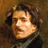 Eugene Delacroix: Artist Portrait