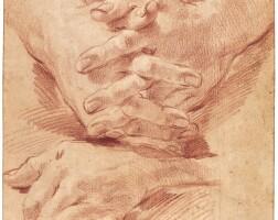 345. gaetano gandolfi | studies of hands
