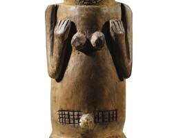 222. statue, kuyu, république démocratique du congo |