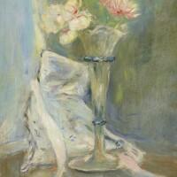 140. berthe morisot | anémones roses