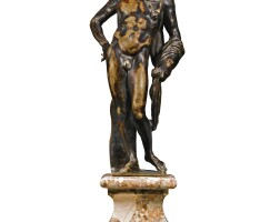 423. italian, florence, 18th century after the antique