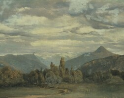 2. alexandre calame | vue de la terrasse du vallon