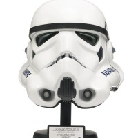 22. star wars a new hope stormtrooper helmet, master replicas, 2007