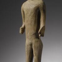 204. bongo funerary figure, sudan