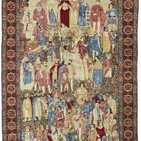 14. a kirman 'meshehir' carpet, southeast persia