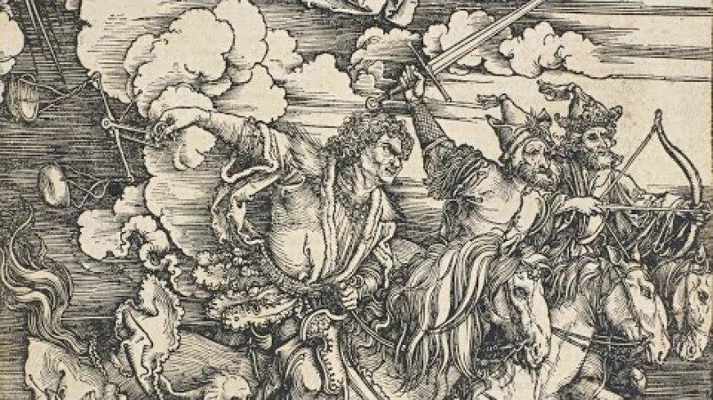 Albrecht Dürer's Striking Moment of Divine Intervention