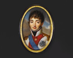 49. 象牙細密畫,法國畫派,約1810年 | 象牙細密畫,法國畫派,約1810年