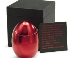 1. jeff koons | cracked egg (red)