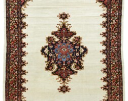 155. a malayer rug, west persia