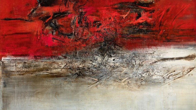 The Powerful Hurricane Paintings of Zao Wou-Ki