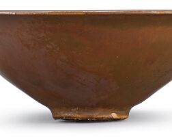 308. a yaozhou persimmon-glazed cup song dynasty |