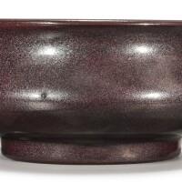 6. an iron-rust glazed censer qing dynasty, 18th century