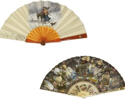 41. a group of fans, various origins and dates   a group of fans, various origins and dates