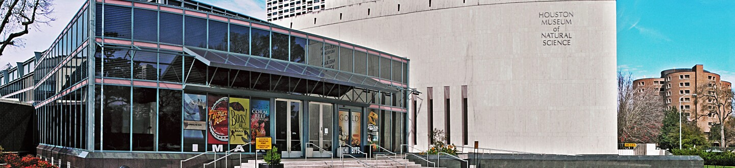 The Exterior of the Houston Museum of Natural Science