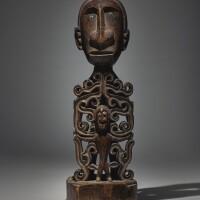 24. doreh ancestor figure, manokwari, west papua, indonesia