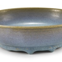427. a junyao blue-glazed narcissus bowl song– yuan dynasty