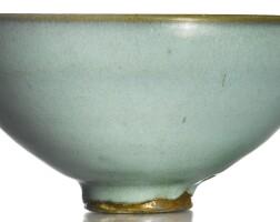 5. a 'moon white' 'jun' bowl song dynasty