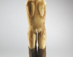 24. statuette,yup'ik, eskimo, alaska