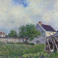 136. Attributed to Alfred Sisley