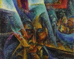 14. 翁貝托·波丘尼 | 《頭部、光線與氣氛》