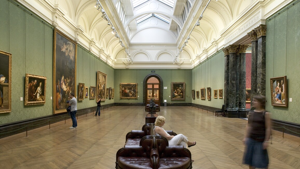 Interior View, National Gallery