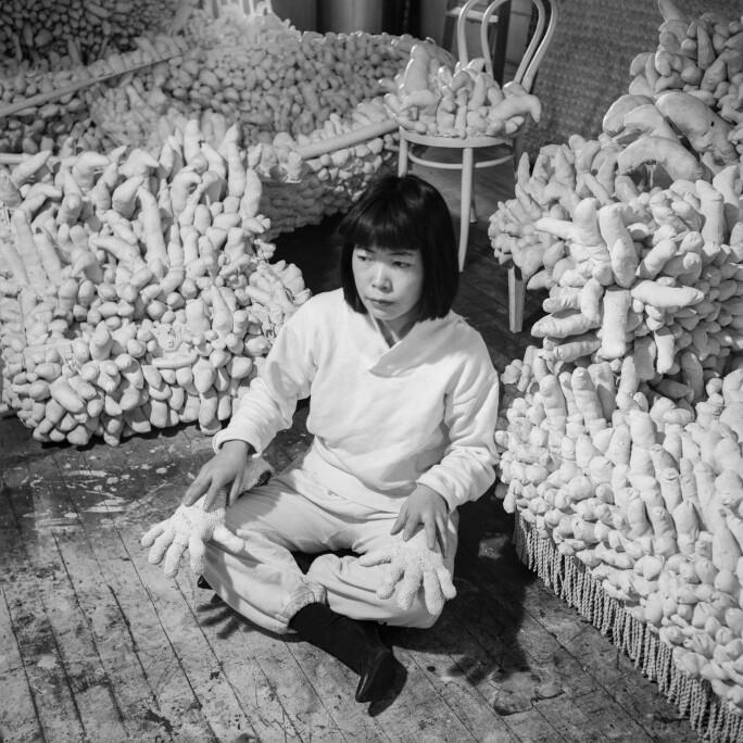 Yayoi Kusama, New York, 1964.