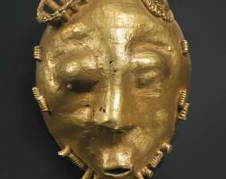 33. baule gold pendant mask, ivory coast