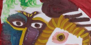 Pablo Picasso | Homme et femme au bouquet