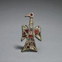 1. western european, migration period,probably6th century | eagle fibula
