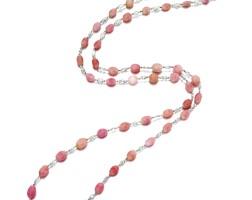 1646. 海螺珠配鑽石項鏈