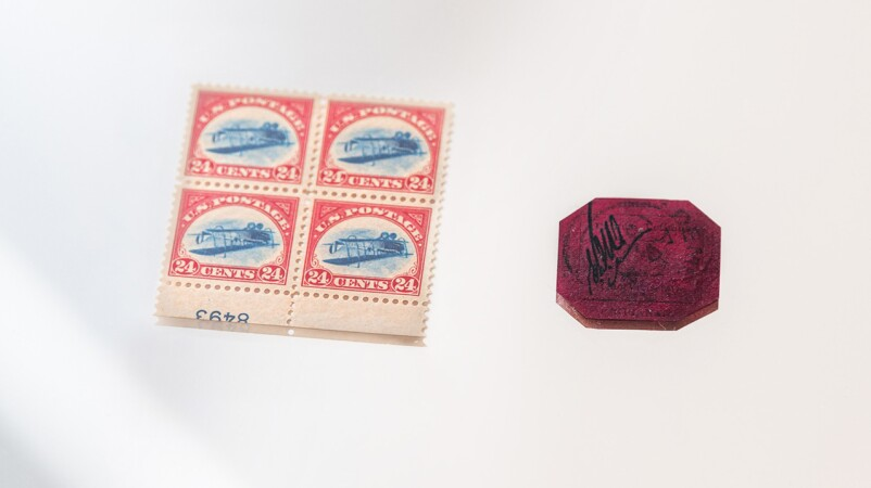 Two of the Rarest Stamps in Existence Come to Market