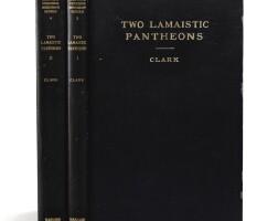 142. walter eugene clark, two lamaistic pantheons |
