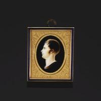 32. 象牙單色細密畫,讓·貝爾坦·帕朗繪製,約1805年 | 象牙單色細密畫,讓·貝爾坦·帕朗繪製,約1805年
